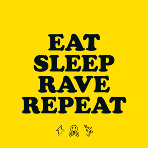 Eat Sleep Rave Repeat all logo