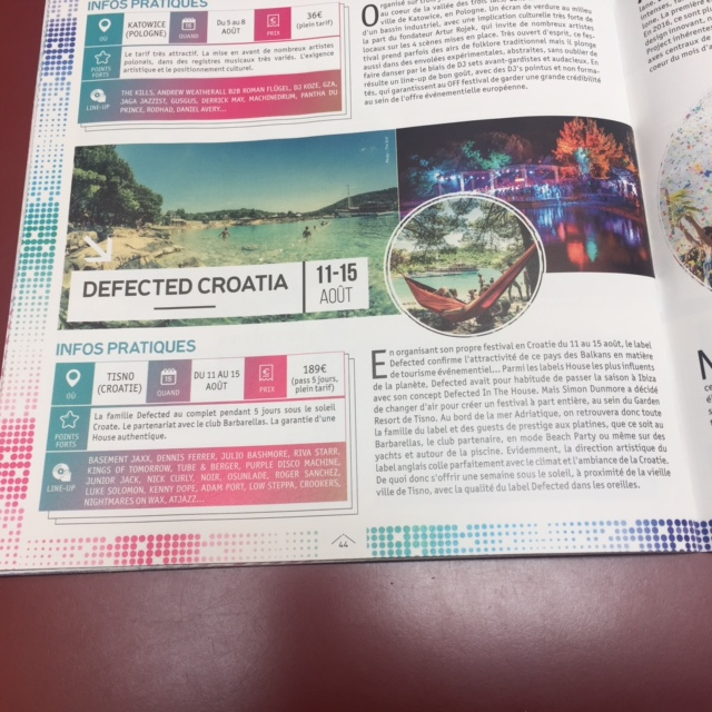 Defected on Dj Mag festival guide
