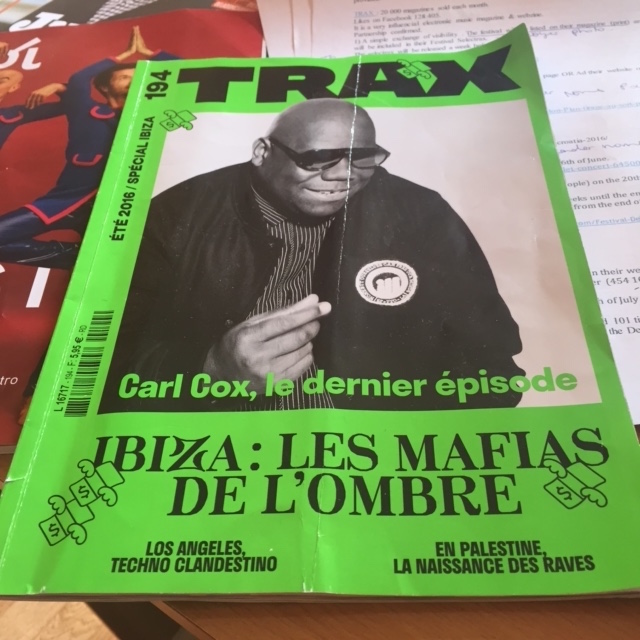 Trax summer edition Carl Cox