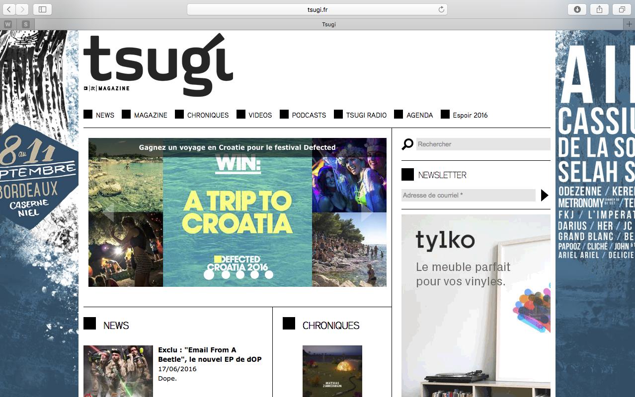 tsugi homepage